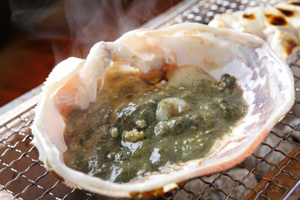 カニ味噌は新鮮なうちにつゆといっしょに食べるのがおいしい。