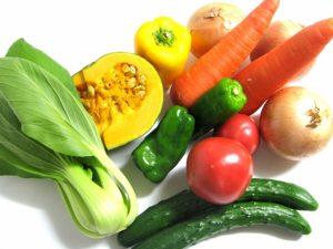 野菜中心の食事を心がけています。カボチャに多く含まれるβーカロチンは、細胞の老化やがん化を防ぐ働きがあり風邪を予防するなどの免疫力強化の働きもある!