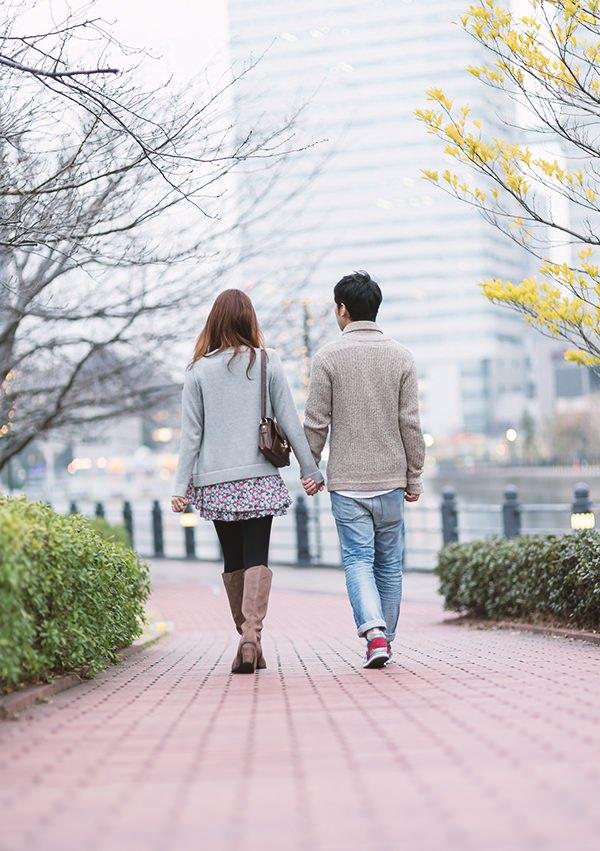 いくつになっても、昔のまま恋人のような夫婦でいられる恋愛が理想的。