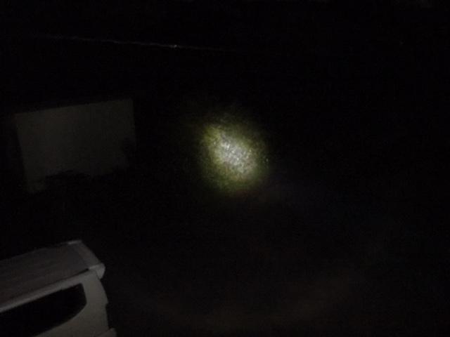 パナソニック LED懐中電灯 BF-BS01P-Wの明るさ
