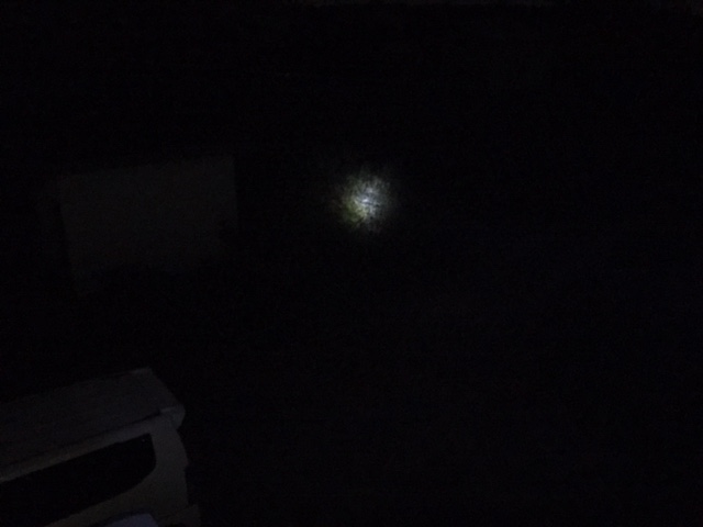 ムサシ RITEX 懐中電灯付LEDセンサースリム ASL-030の明るさ