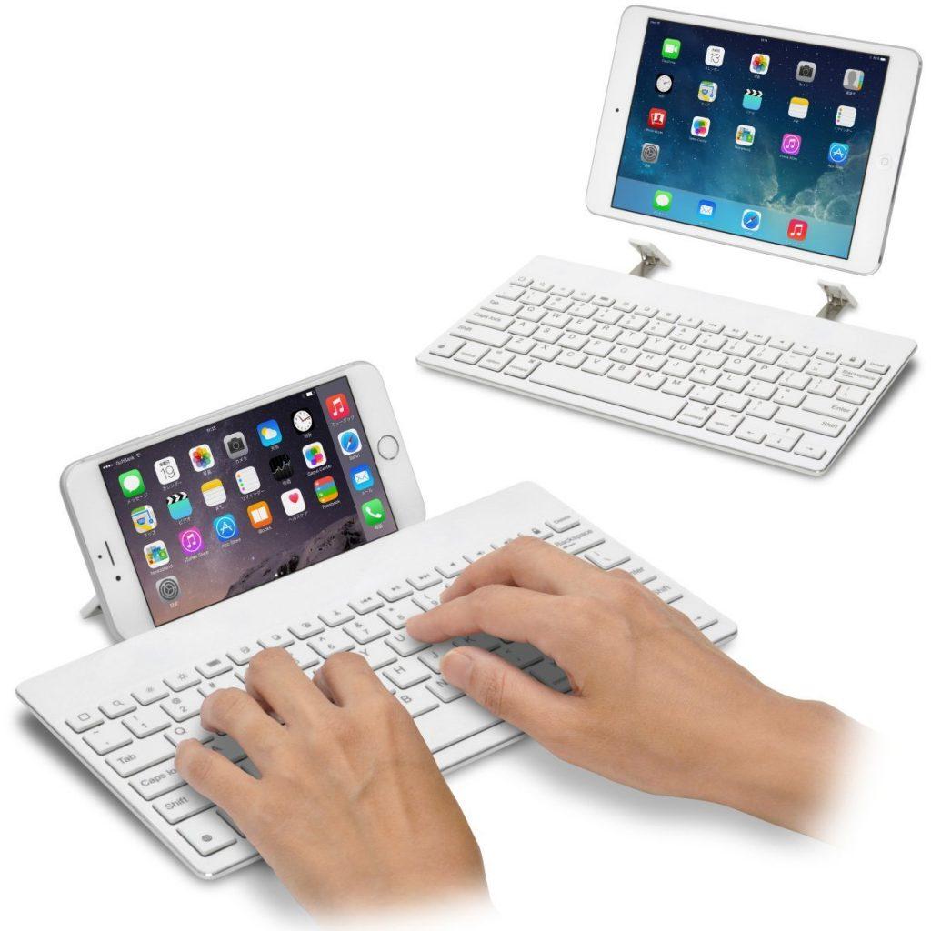 iPhone用にキーボードを買いました!PCと同様にキーボードが使えて大満足です。