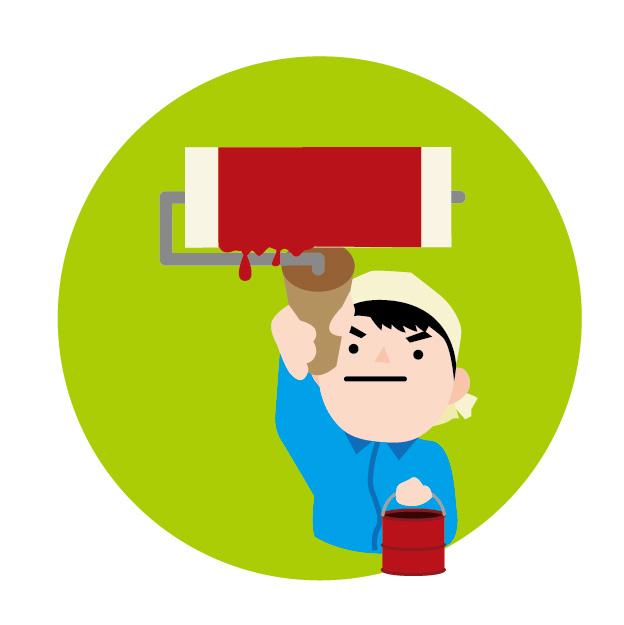 塗装工の平均年収594万円!【塗装職人になるには?】塗装の技術を上げて早く一人前になりたいペンキ屋さんへ!何事も一人前になるには学習が必要です。動画を見るだけで楽しく学べます。