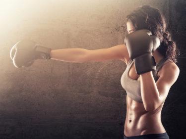 ボクシングジムに通い始めて半年で7キロ痩せました。