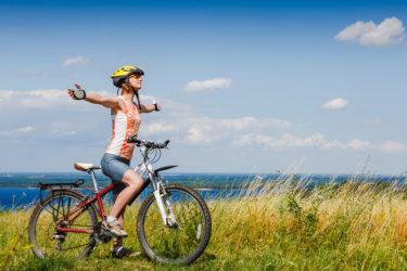 毎日1時間、雨の日も風の日も自転車ダイエットを行うことを日課にしました。すると、半年で5キロ痩せることができました。