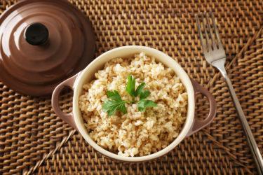 玄米一合あたりのカロリーはどれくらい?