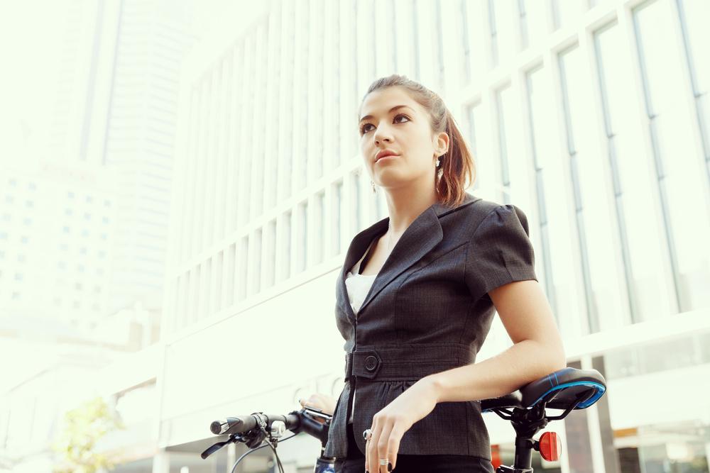 車通勤のところ、自転車通勤に変えました。それだけで、半年で6キロ痩せることができた