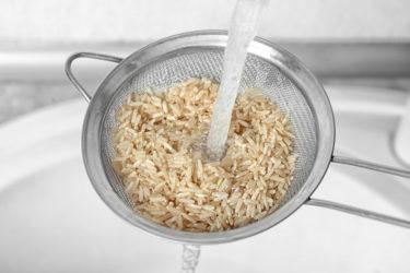 炊いた玄米がまずい!玄米をおいしく食べるためには洗い方が重要だった!